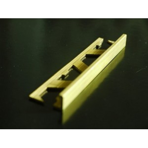 10mm brass square edge tile trim