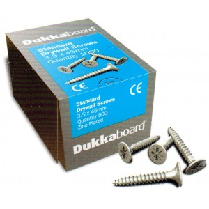 Screws for Dukkaboards 65mm