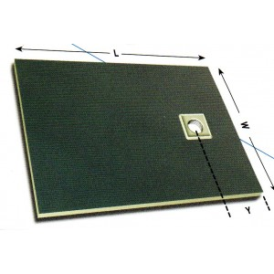 Dukkaboard 1400mm x 900mm x 25mm Showertray