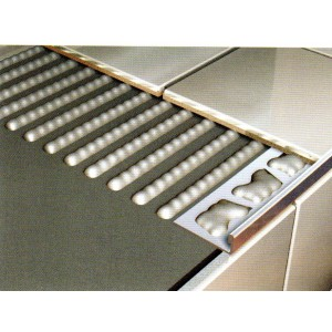 18.5mm Stainless Steel Marine Square Edge Tile Trim