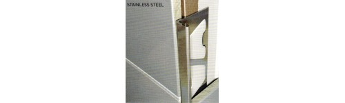 STAINLESS STEEL Tile edging trims